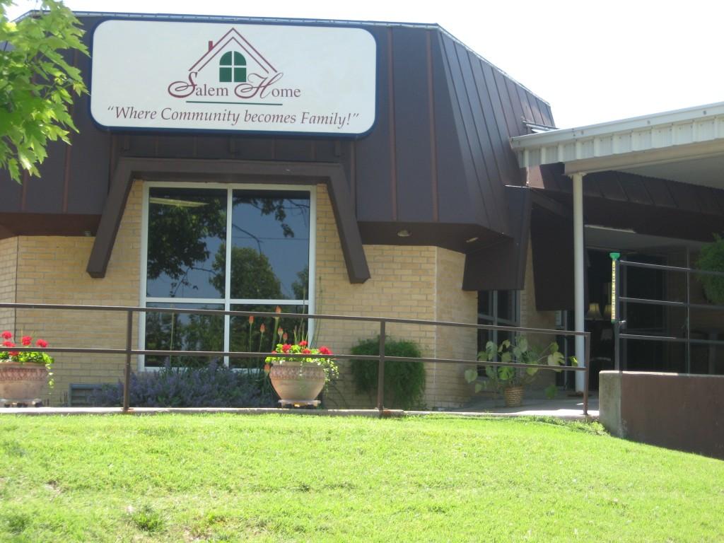 Salem Home Front Entrance