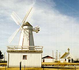 Windmill - Adobe House, Hillsboro Kansas